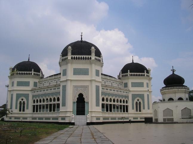 2013-Mesjid Raya, Medan