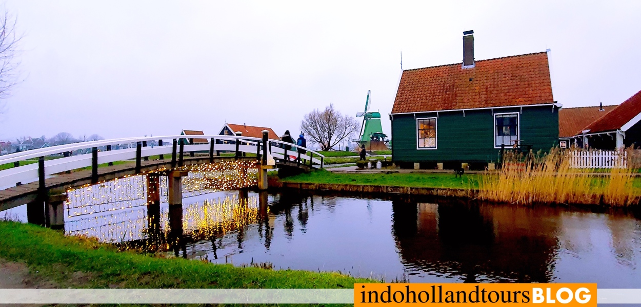Zaanse Schans Belanda Eropa Barat