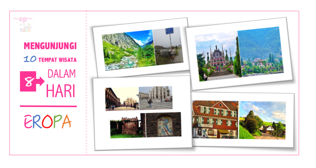 Mengunjungi 10 Tempat Wisata Dari Belanda Ke Milan Sampai Switzerland, Dalam 8Hari