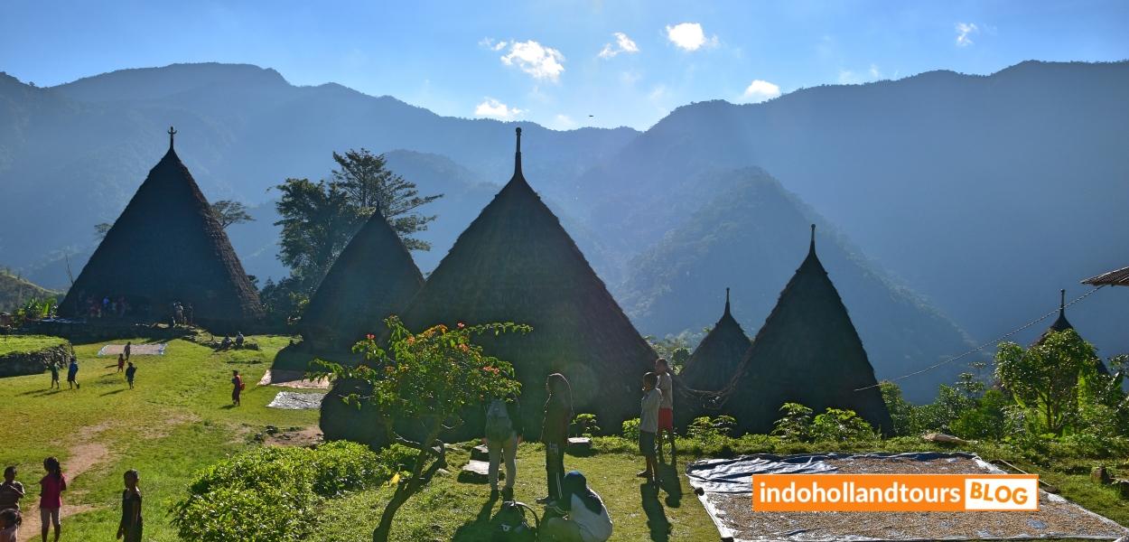 Desa Waerebo Flores, Indonesia