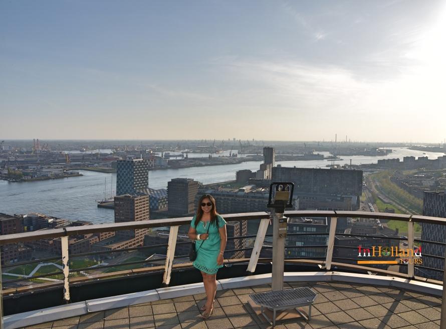 Pemandangan Euromast Rotterdam - IndoHolland Tours