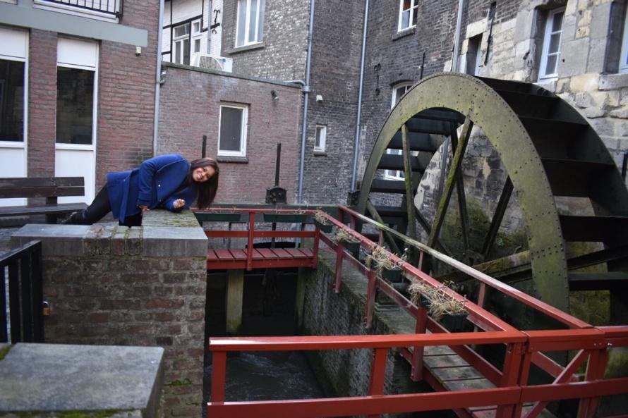 Kincir Belanda di kota Maastricht