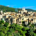 Desa Gourdon Prancis Eropa