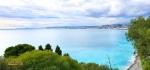 Pemandangan laut di kota Nice