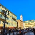 Pusat kota Nice Prancis Selatan