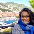Foto dan selfie di kota Nice Prancis