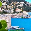 Pemandangan laut di Nice Prancis