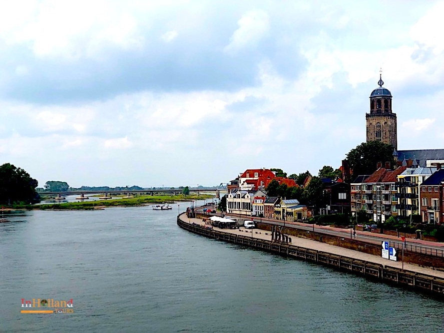Sungai Ijssel di Deventer Belanda 2019