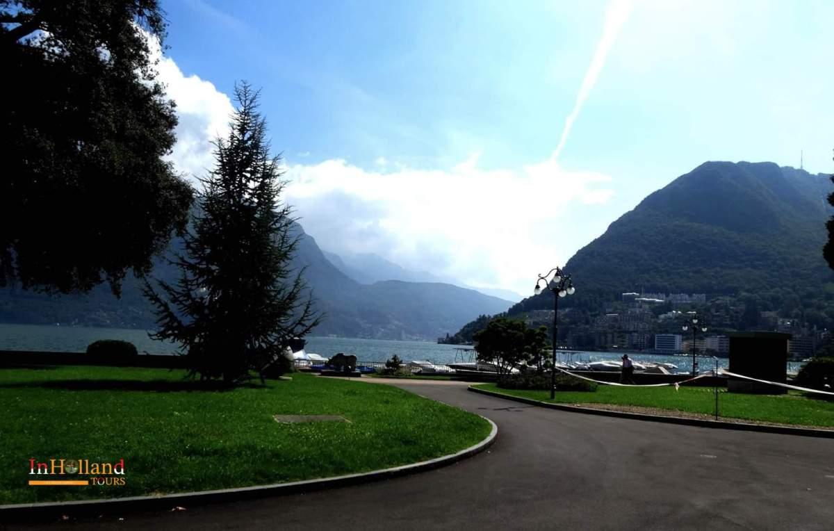 Lugano Swiss Eropa Barat