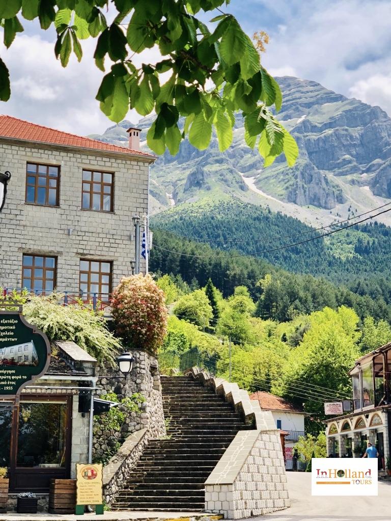 Agnanta village, Tzoumerka Greece, Europe