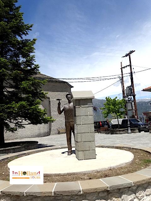Desa Agnanta Tzoumerka Yunani, Eropa