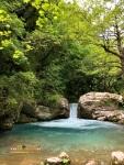 Air terjun Kouiasa Tzoumerka, Yunani, Eropa