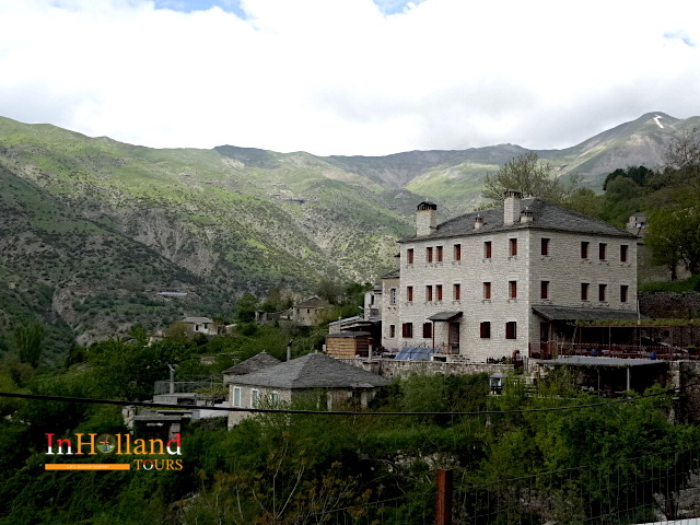 Desa Tsopela, Tzoumerka Yunani, Eropa
