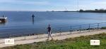 Danau Ijsselmeer, di Friesland, Belanda