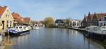 Makkum village Friesland,Belanda