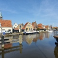 Makkum village, Friesland, the Netherlands
