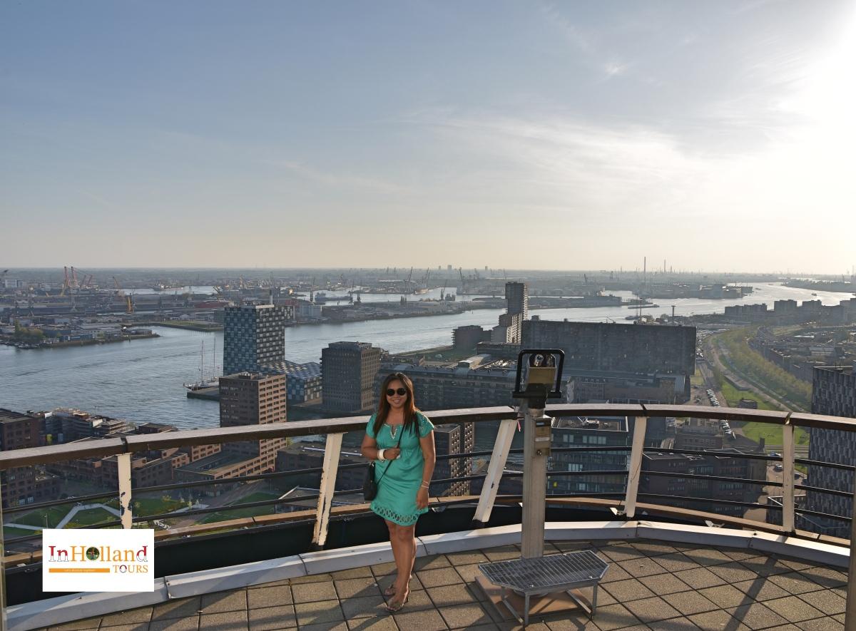 Euromast Rotterdam in Holland Europe