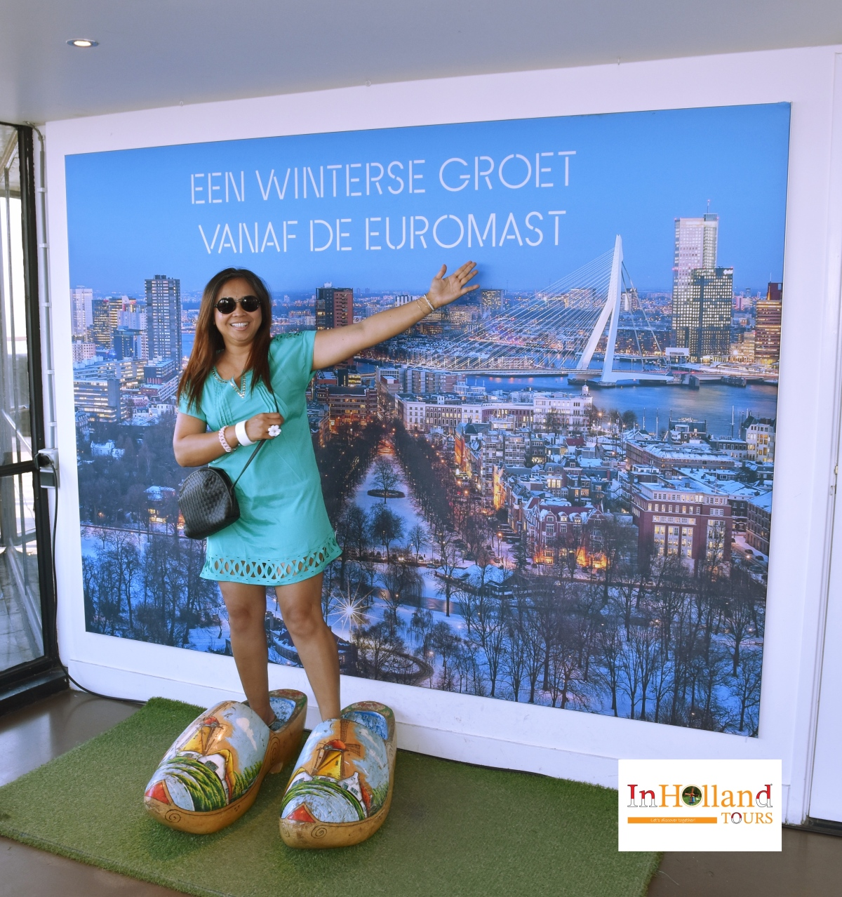 Euromast menara di Rotterdam Belanda