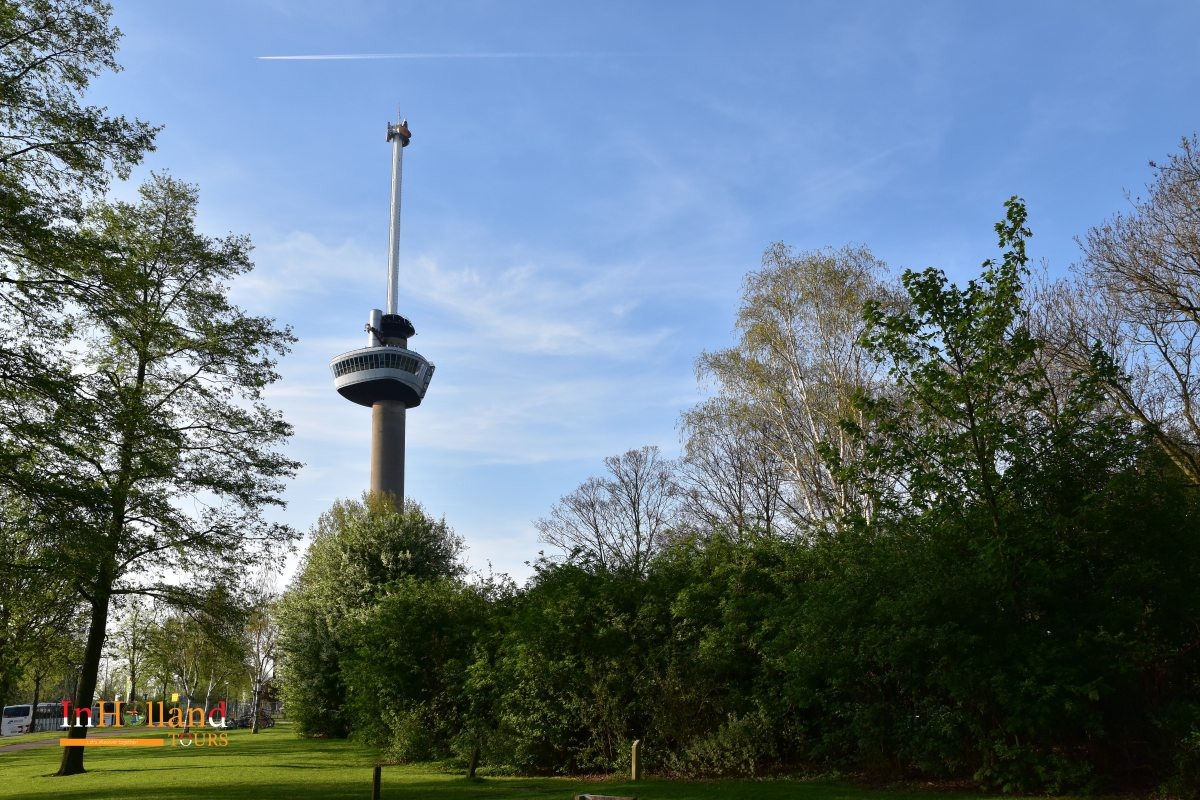 Euromast Tower in Holland Europe