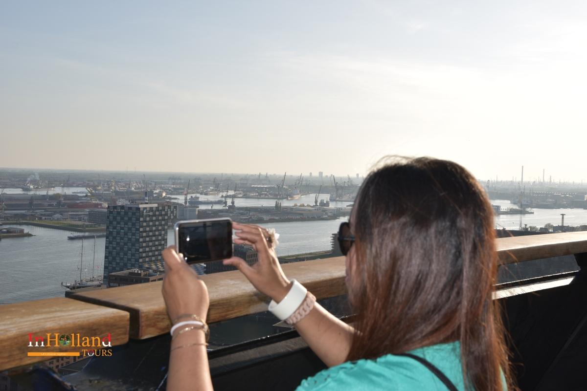 Euromast Tower di Rotterdam Belanda