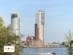 Rotterdam panorama di Rotterdam Belanda