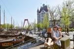 The cubic house di Rotterdam