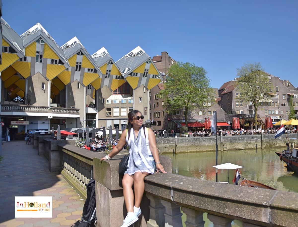 Rumah Cubic yang inovatif di Rotterdam Belanda