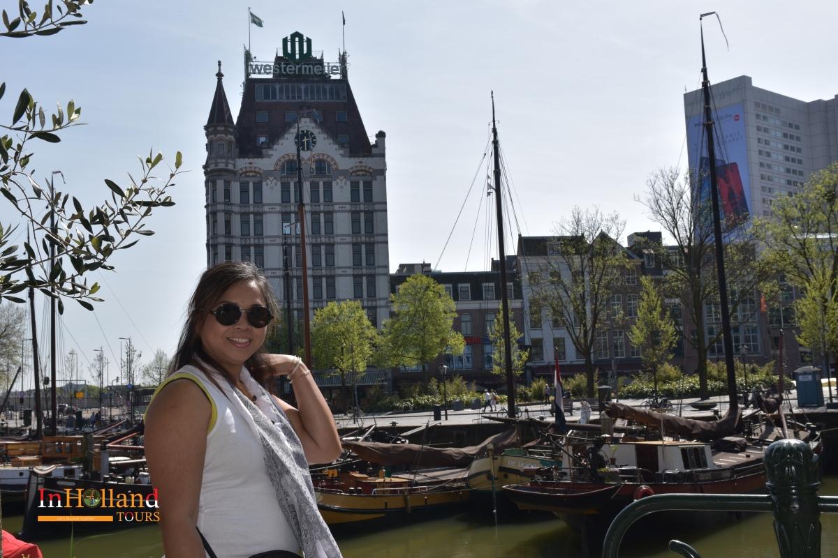 Pelabuhan Rotterdam di Belanda Eropa