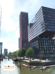 Haven Rotterdam in Holland Europe