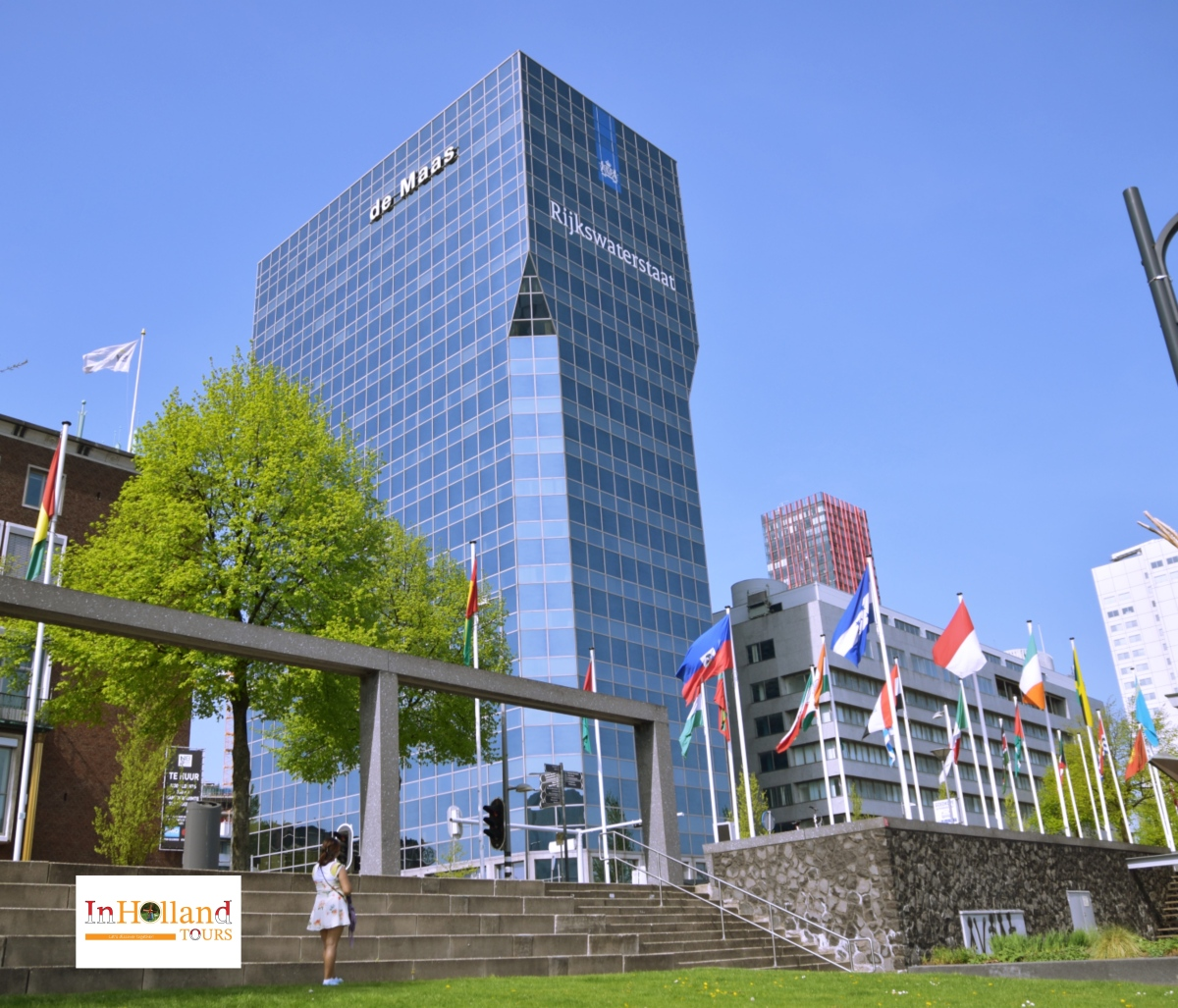 Rotterdam di Belanda Eropa