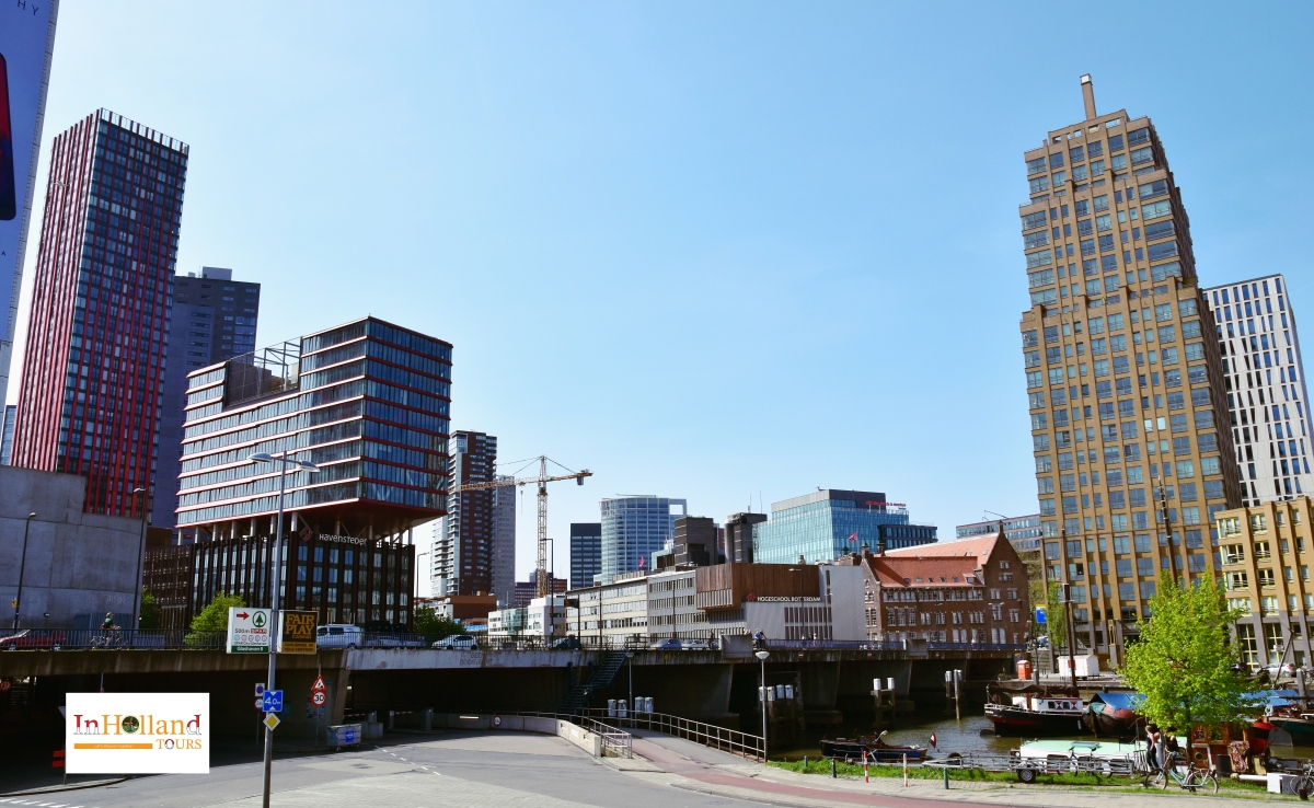 Rotterdam in South Holland The Netherlands