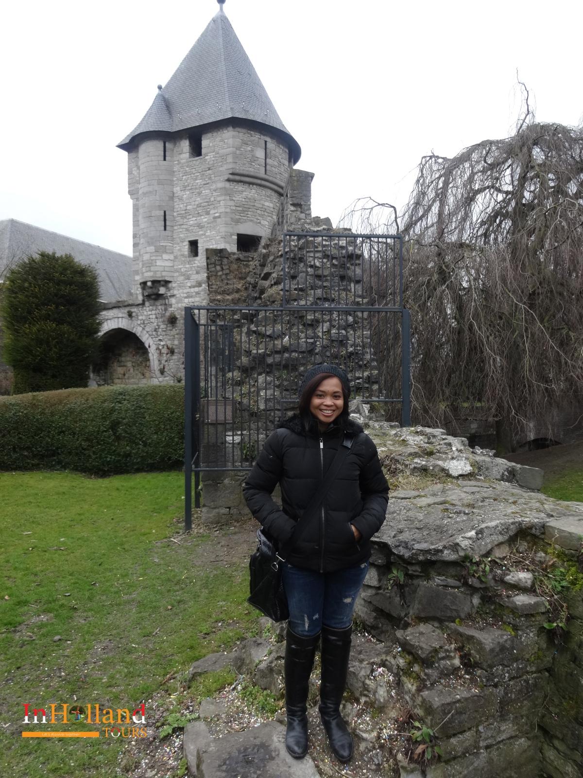 Kastil terbaik di Belanda