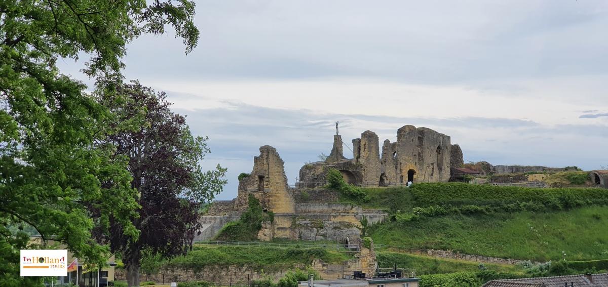 Castle in Valkenburg Europe
