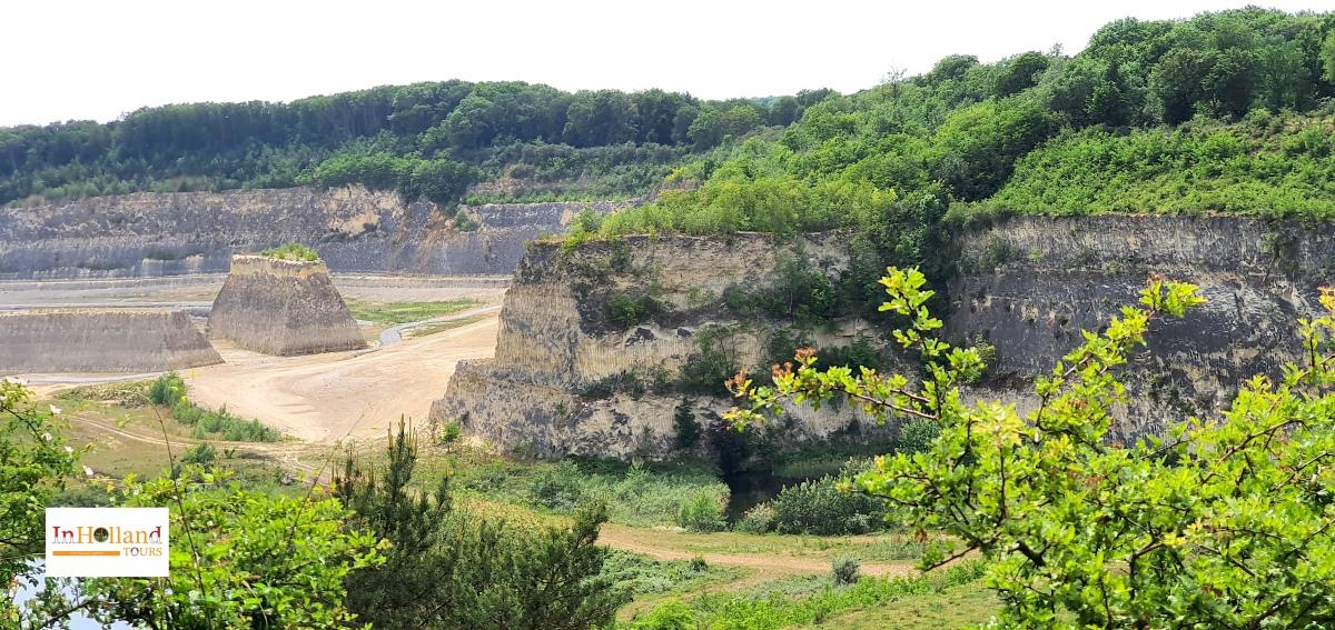 Panorama of ENCI Limburg Holland