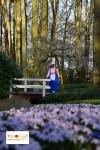 Tulip di Lisse Keukenhof South Holland Eropa