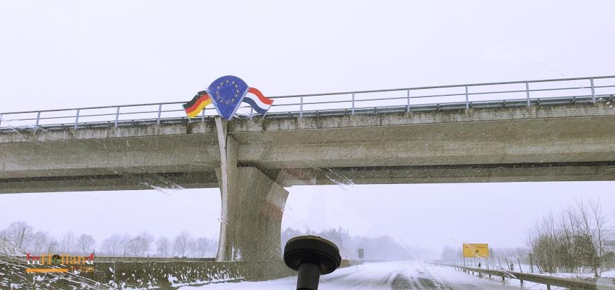 Musim dingin di Belanda