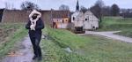 Liburan musim dingin di Bourtange