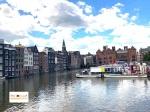 Kota sibuk di Eropa Amsterdam