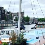 Kanal di Amsterdam
