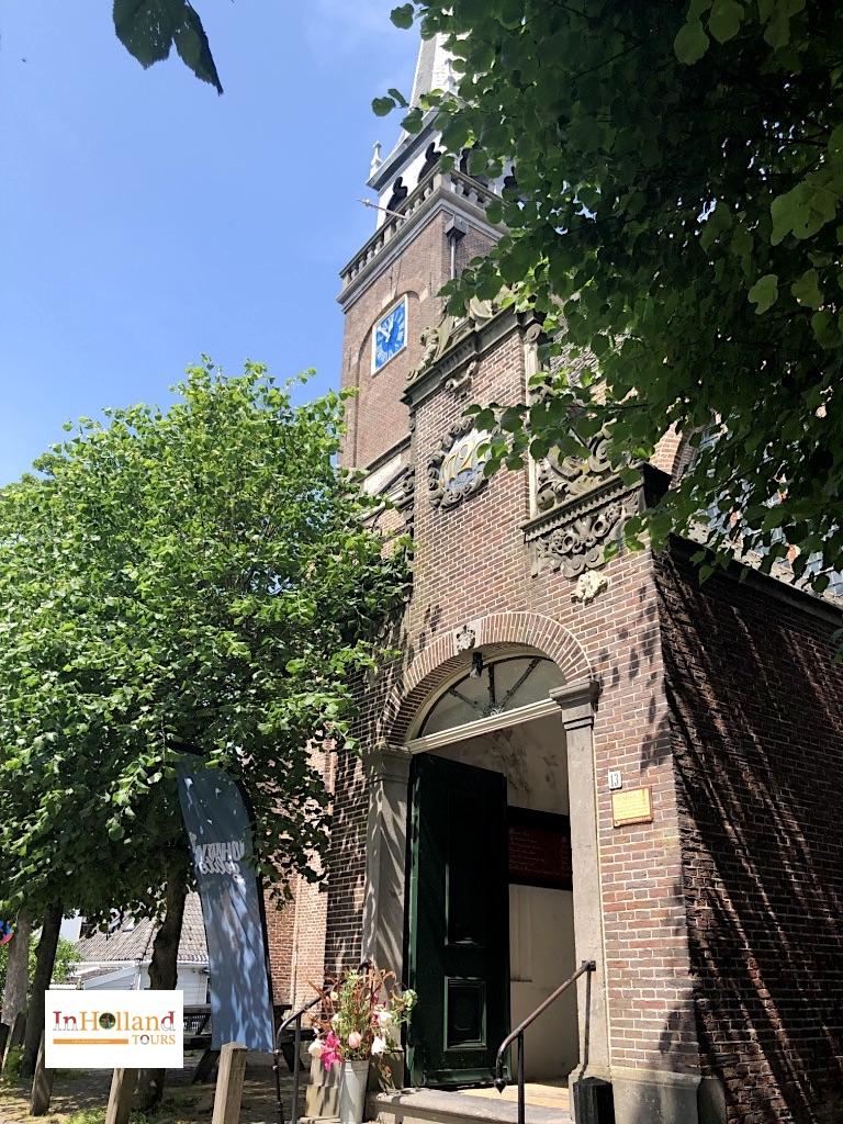 The old church in Broek in Waterland