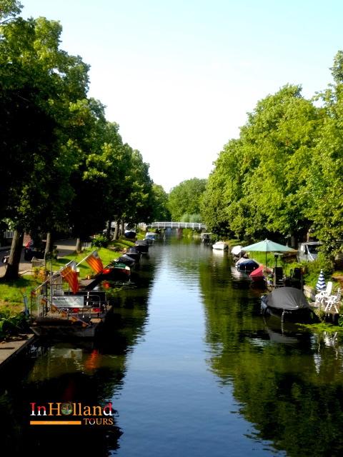 Wisata sampan di Belanda-Utara