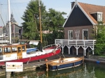 Rumah panggung di Belanda