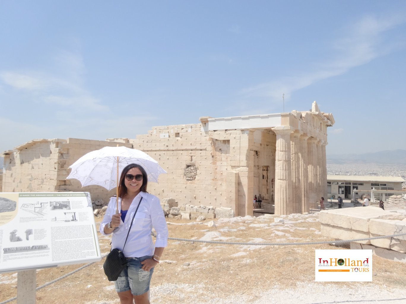 Kuil Panthenon di Athena, Yunani