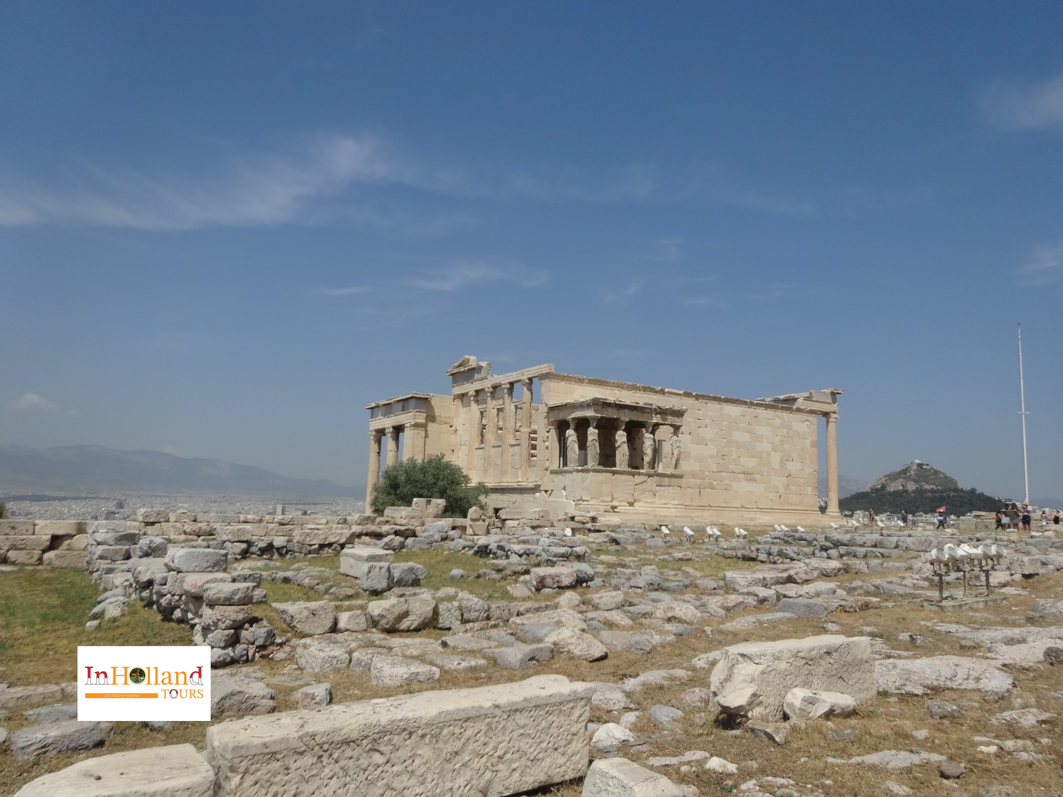 liburan ke Athena