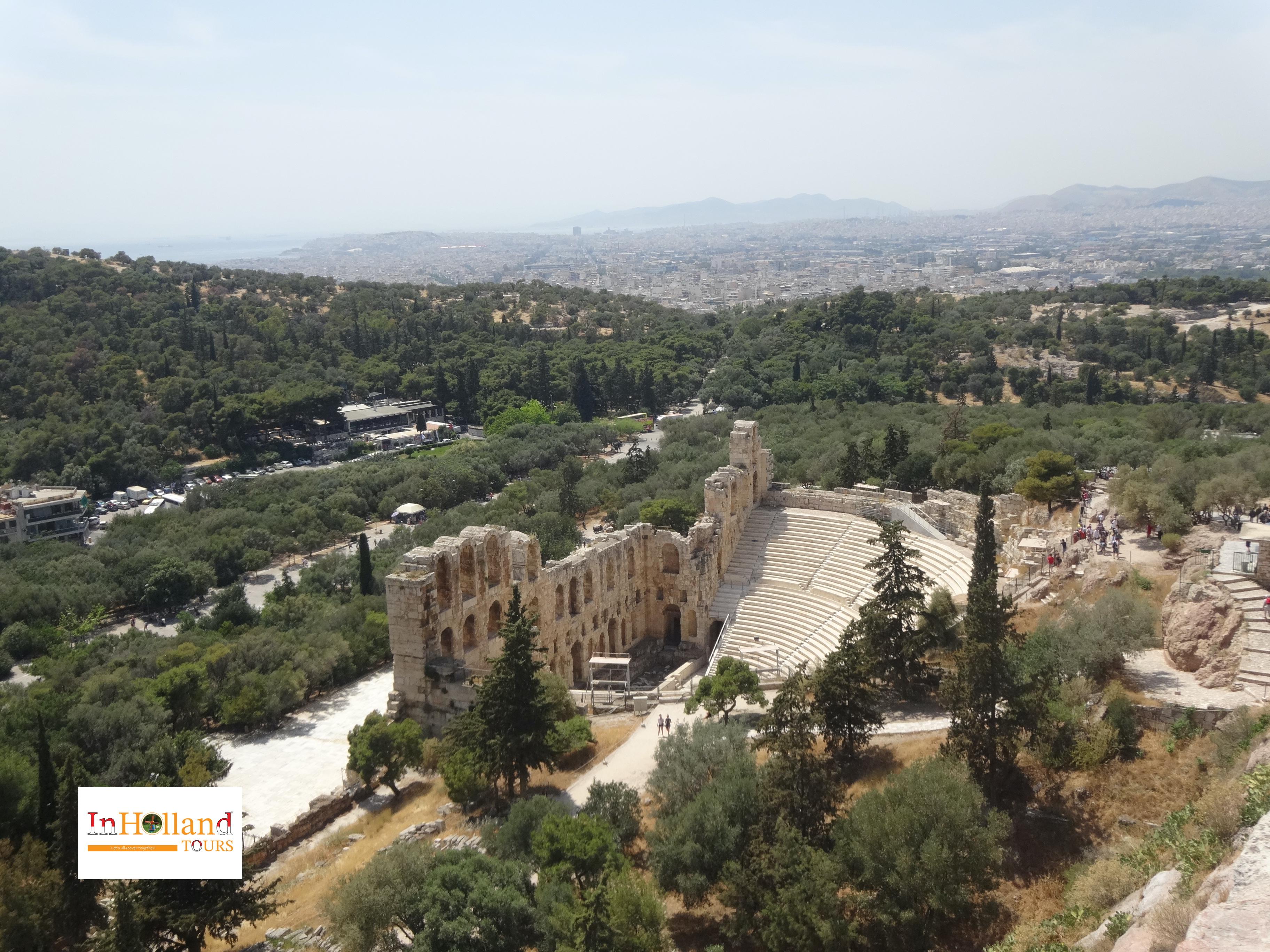 Teaater Dioniso di Athena, Yunani