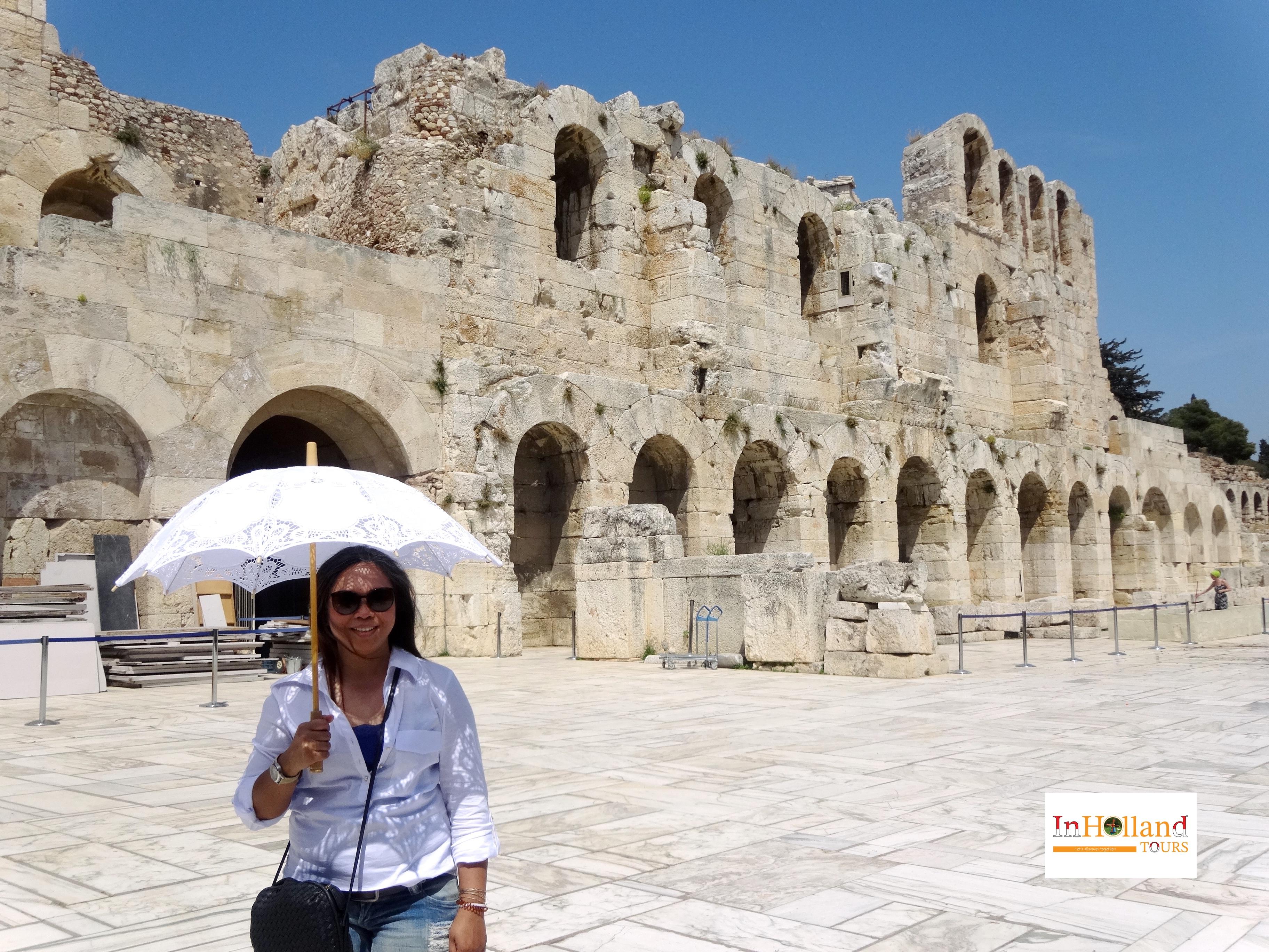 Liburan di Negara Dewa, Yunani