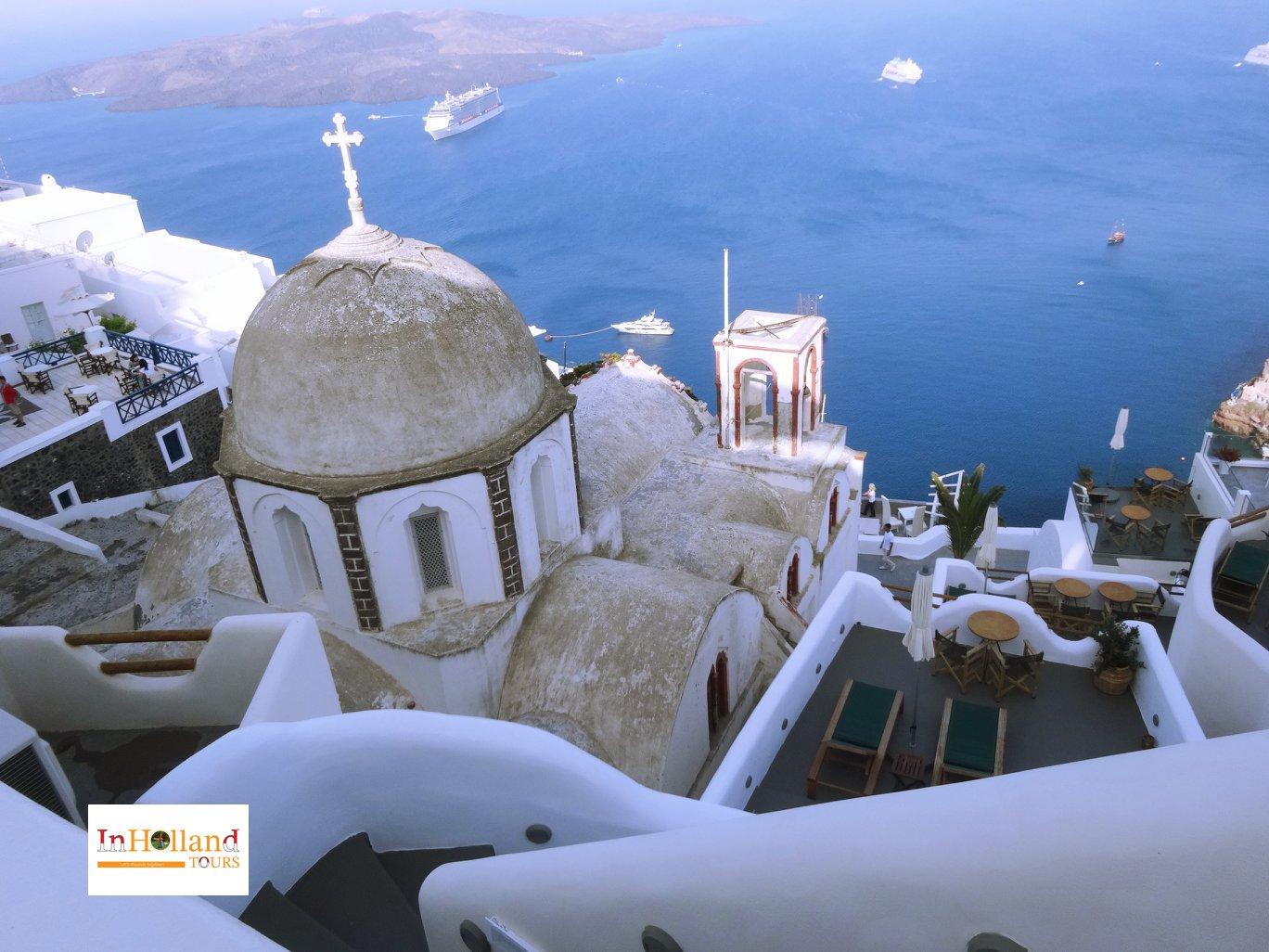 Liburan mewah di Yunani Santorini